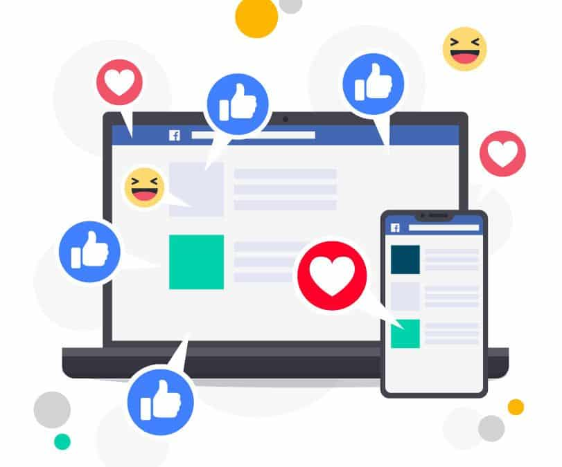 Supercharged Facebook Ads: How it works (Infographic)