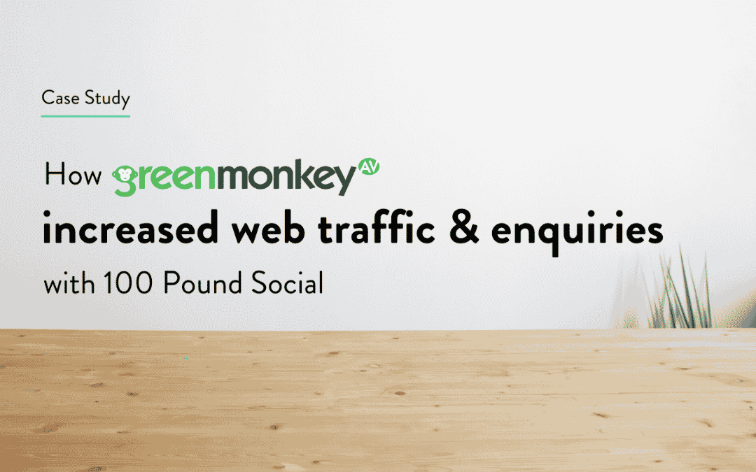 How GMAV Increased Web Traffic And Enquiries With 100 Pound Social