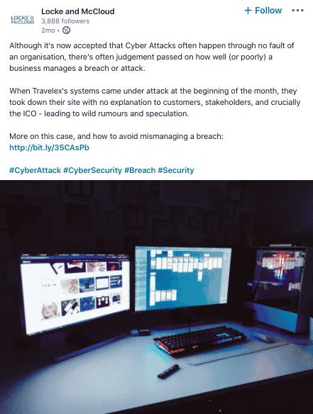 Locke & McCloud, Cyber Security Recruiters