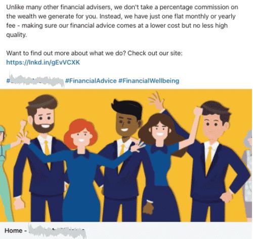 Company type: Financial Advisory