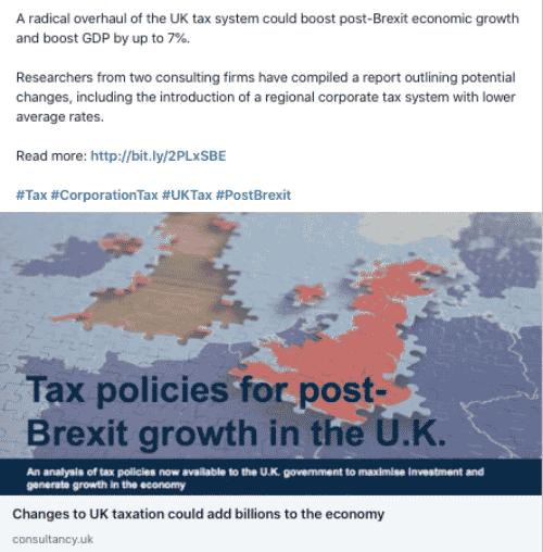 Company type: Tax & International Trade