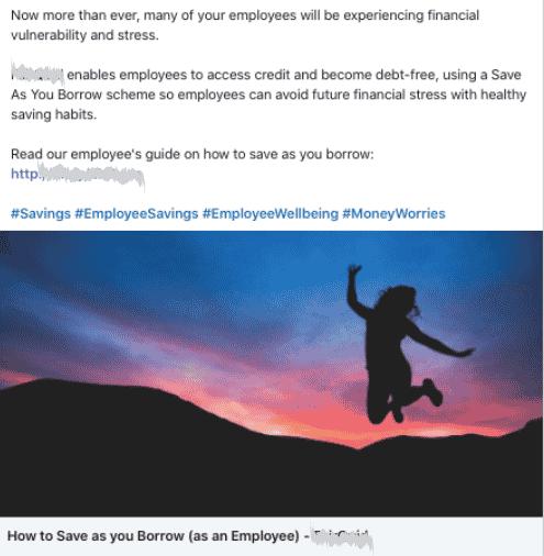 Company type: Employee Lending