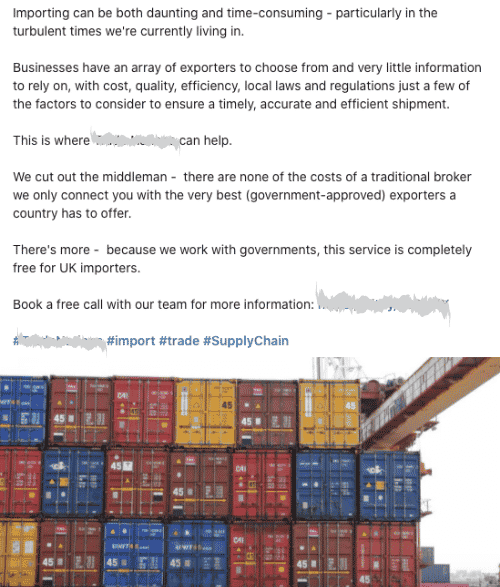 International Imports & Exports Consulting