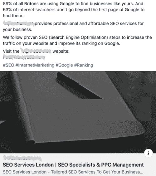 Company type: SEO Agency