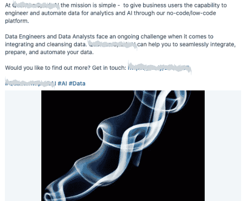 Company type: Data Engineering