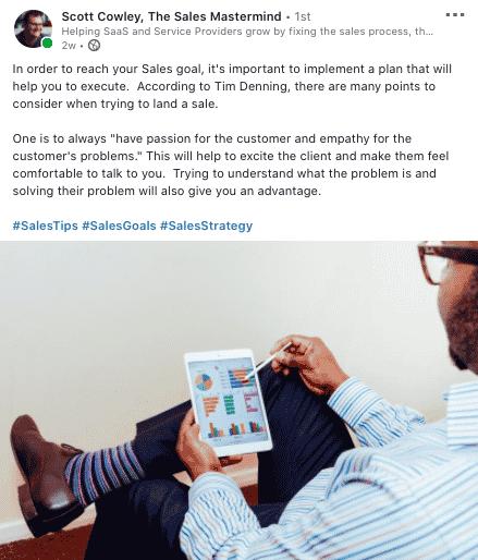 The Sales Mastermind