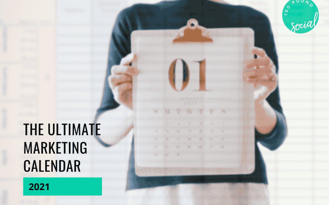 The Ultimate Marketing Calendar