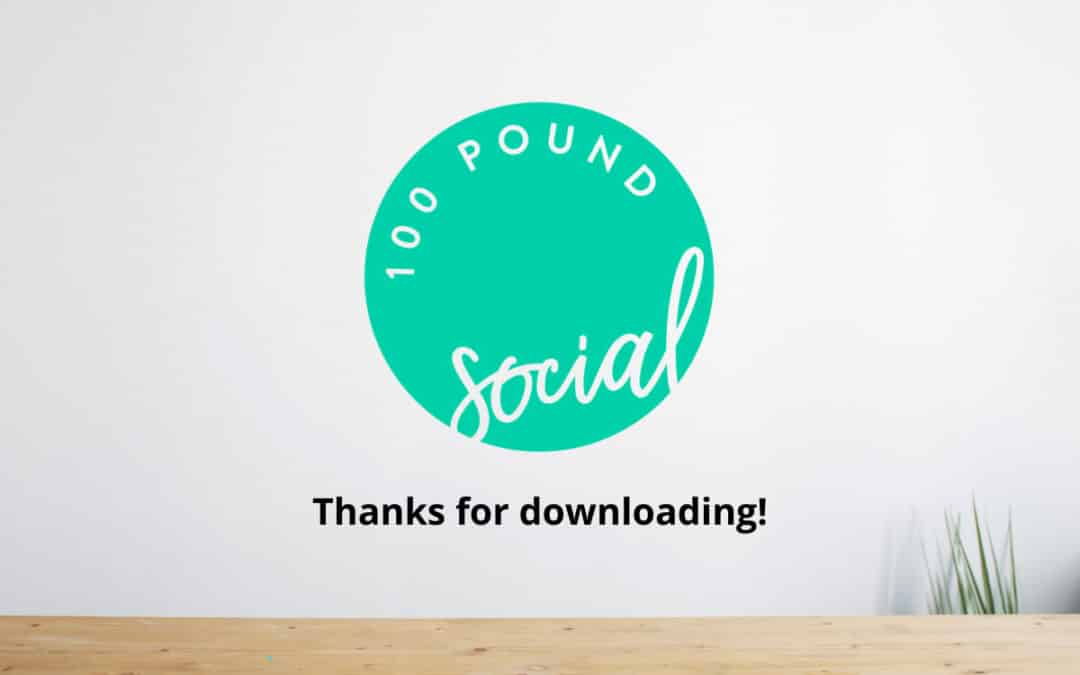 Resource Download – Thank You