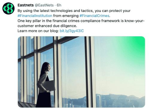 Eastnets Twitter - 100 Pound Social