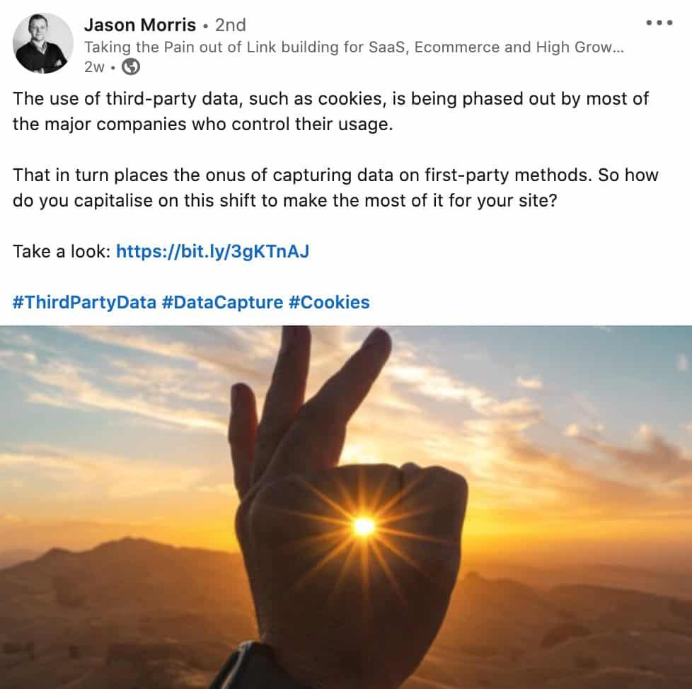 Jason Morris Profit Engine LinkedIn Social Media