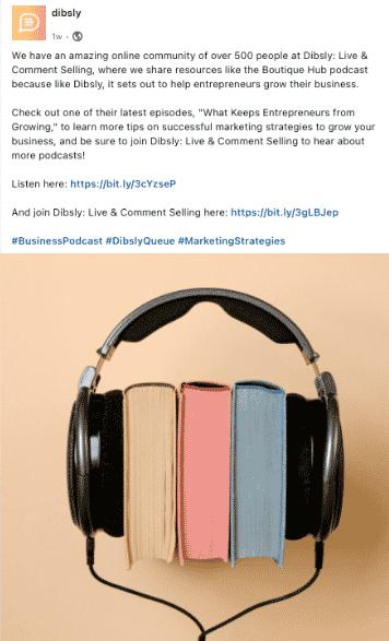 Dibsley - LinkedIn Post - 100 Pound Social